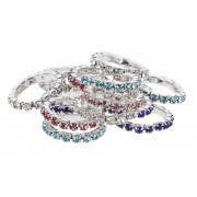 Elastiques strass couleurs - covalliero - KERBL