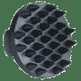 etrille caoutchou noire